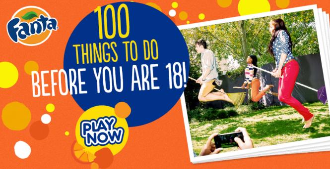 100 lucruri inainte de 18 ani